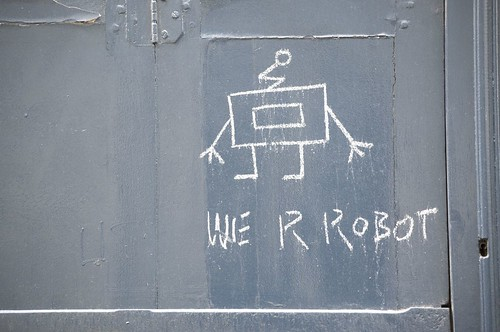 We Are Robot, Graffiti, Paris