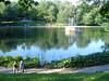 Parc Lafontaine (montroyaler) Tags: park street trees canada fountain la rachel pond quebec plateau montreal royal rue amherst fontaine mont parc lafontaine lacune