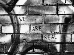 We Are Real (viva la vibs) Tags: portland nw grafitti pdx vivalavibs wearereal