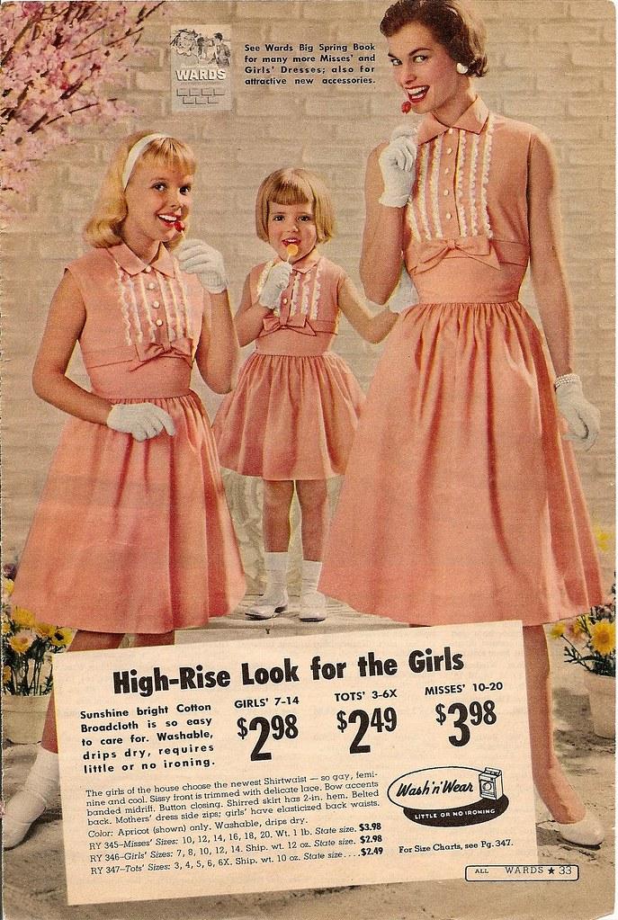 ea34e9527 montgomery ward summer 1959 catalog (CapricornOneVintage) Tags  woman girl fashion  vintage scary dress
