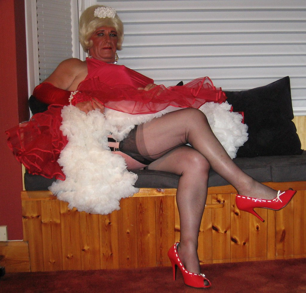 Dawson recommend best of crossdresser stockings 1950s in
