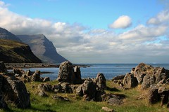 Isafjardarjup 02 (*maya*) Tags: nature landscape island iceland seaside mare shore fjords westfjords scogliera islanda isafjordur arcticsea mareartico alftafjordur fiordioccidentali isafjardarjup