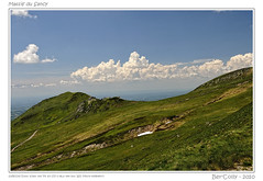 Sur les pentes du Sancy (BerColly) Tags: sky mountain france clouds montagne landscape google flickr ciel nuages paysages auvergne puydedome superbesse francelandscapes rubyphotographer bercolly