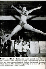 show girl at club delisa,c1940s (psychosurplus) Tags: