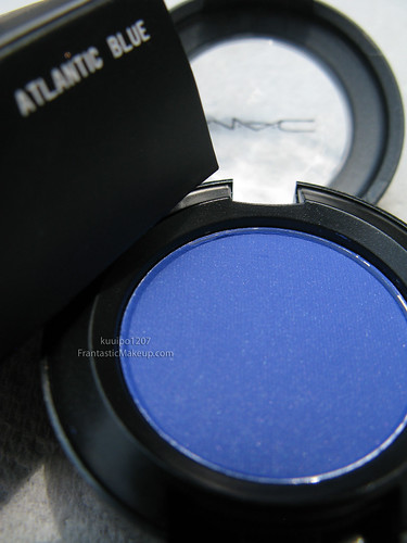 MAC Dare to Wear Atlantic Blue eye shadow