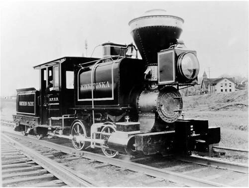 Northern Pacific Railroad locomotive
