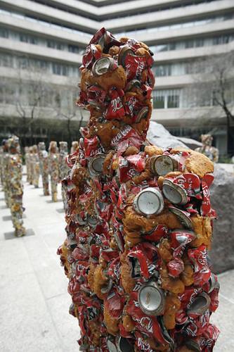 Arte con basura