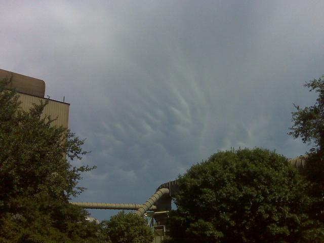 sky at mill