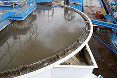 Aquacycle thickener for water recycling