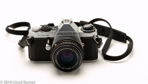 Pentax ME Super 35mm SLR Camera (1979)