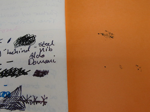 "Allow some drying time: Rhodia web notebook (""webbie"")"