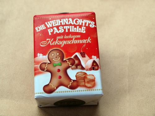 Weihnachtspastillen mit Keksgeschmack