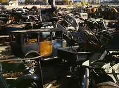 [フリー画像] 自動車, スクラップ, アメリカ合衆国, 201008141300