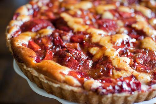 Pink Parsley: PPQ: Peach Cream Cheese Tart
