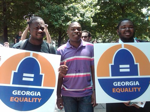 George Equality supporters