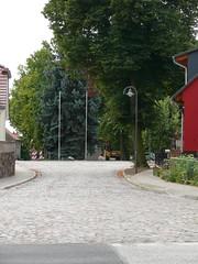 Sanierte Dorfstraße