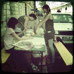 KultiWIRung: das Volksbad Buckau bietet einen Batikworkshop an.