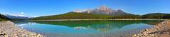 Patricia Lake Panorama HDR