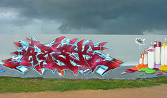Toulouse Fr (AZEK one) Tags: wild urban france art colors wall writing painting graffiti interestingness paint couleurs tag explorer murals style az tags peinture explore hiphop lec cz graff toulouse aerosol burner fr dmc burners spraycan 2010 stue dsk lcf coloms asek azek tz3 lecrew kingsofgraff azekone azeker toulousegraffiti