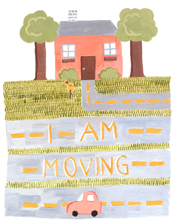 i am moving artwork