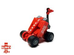 RC buggy (The Slushey One) Tags: red toy one drive play control lego dune slush remote steer buggy slushy slushee slushey