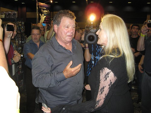 William Shatner Dealer Room