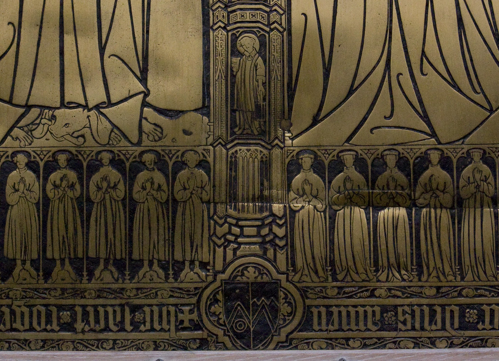 St Lawrence on the Thornton Brass