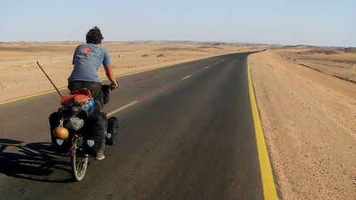 Crossing the Sahara: Staring at the abyss