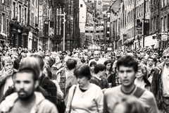 Busy on the Mile