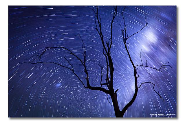Star Burst Sky Spin