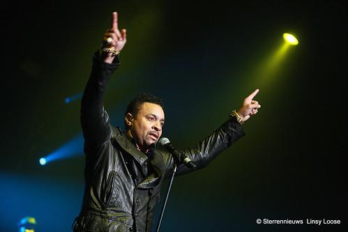 Shaggy live in concert photo at Casino Kursaal Oostende Belgium