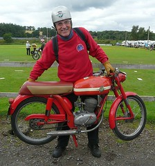 Fancy a carry out? Making light work of an MV Augusta Liberty at Crieff (velton) Tags: classic bike vintage scotland scottish moto motorcycle veteran motorrad velton