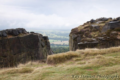 Cow and Calf Rocks on Ilkley Moor