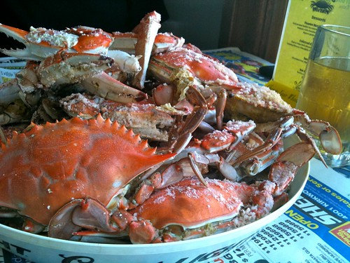 Delaware Crab Feast - Happy Birthday Mod Betty!