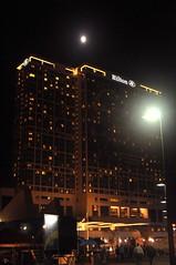 Hilton San Diego Bayfront at Night