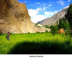 Askole Village,Skardu (Fareed Gujjar - Next Mount Everest April 14) Tags: pakistan expedition town village trekkers k2 karakoram mitre fareed broadpeak askole gujjar baltaro mywinners askoly braldo trekkerz gujjer blackqingri northeranareas