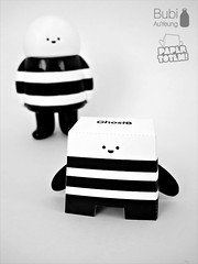 Paper Totem! x Bubi Au Yeung (Dolly Oblong) Tags: paper designer totem custom dolly collect dollies customs designertoy freedownload papertoy bubiauyeung ghostb dollyoblong papertotem