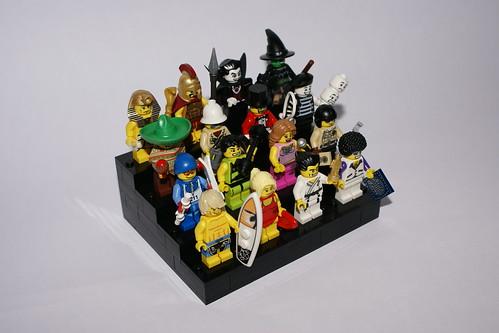 lego collectors minifigures Series 2