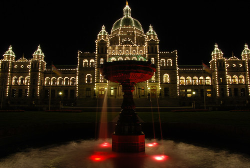 Victoria by night
