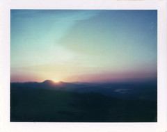Sunrise over Nemrut Dag (emilie79*) Tags: sunrise turkey nemrutdag polaroid180 iduvfilm
