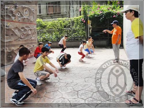 20100812世界展望會兒童攀岩夏令營26
