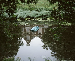 (Gebhart de Koekkoek) Tags: holland mamiya film water netherlands swim random furniture dream couch sofa pollution 6x7 float mamiya7 butdoesitfloat