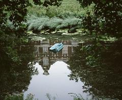(Gebhart de Koekkoek) Tags: holland mamiya film water netherlands swim random furniture dream couch sofa pollution 6x7 float mamiya7 butdoesitfloat