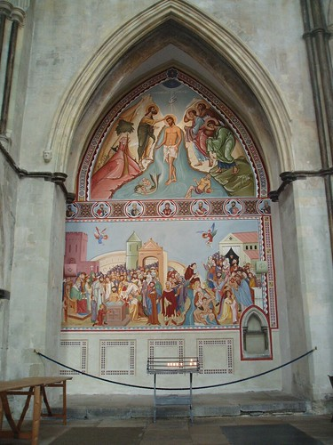 New Fresco, Rochester Cathedral