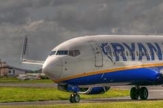 Ryanair @ EGGP in HDR