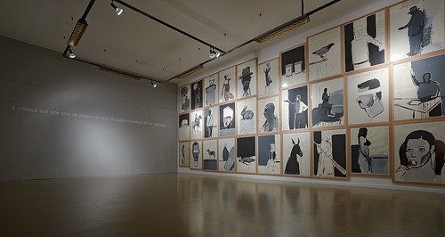 Muro dibujos. by SUSO BASTERRECHEA