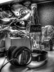 Coke Bottle Still Life-#2