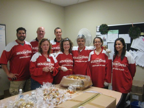 Molson Coors employees volunteer at MS Society