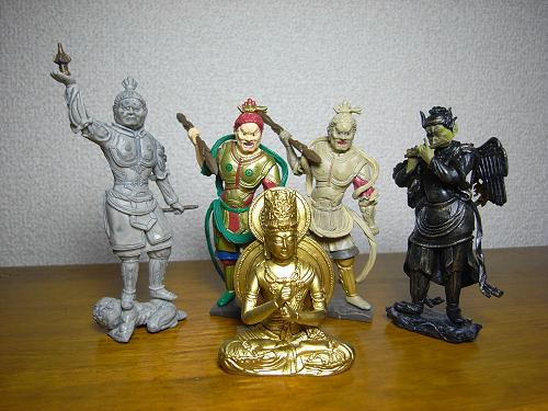 仏像ガチャ『和の心 仏像コレクション 其の二』