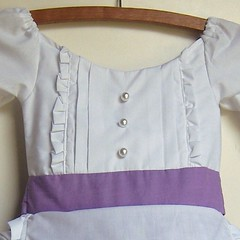 indie design original handmade colonial prairie 19th century dress